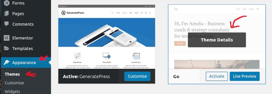wordpress-theme-details-options