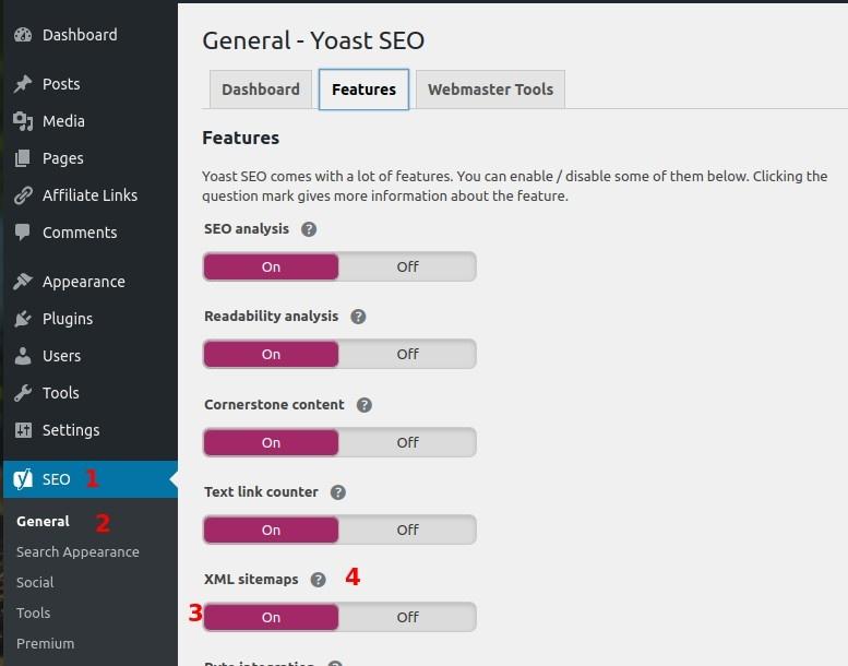yoast-seo-xml-sitemap-settings