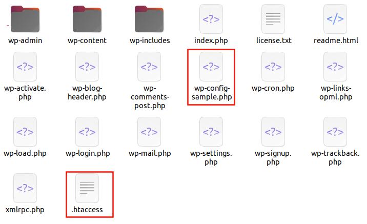 wordpressconfigurationfiles