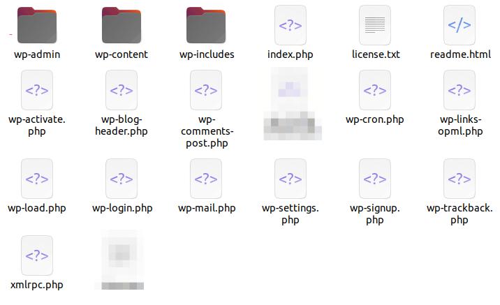 wordpresscorefiles