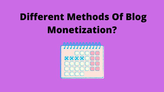 blogmonetizationmethods