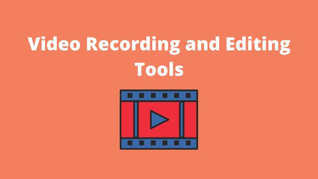 VideoRecordingEditingTools