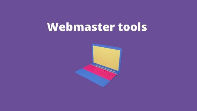 Webmastertools