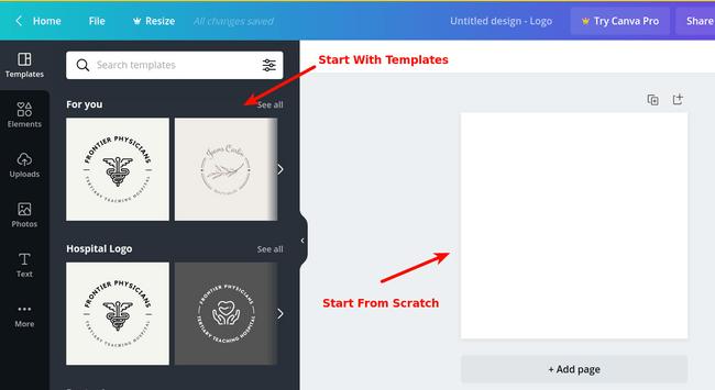 canva-logo-templates-selection