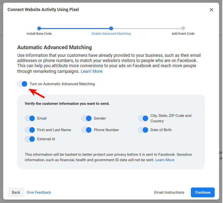 fb-automatic-advanced-matching