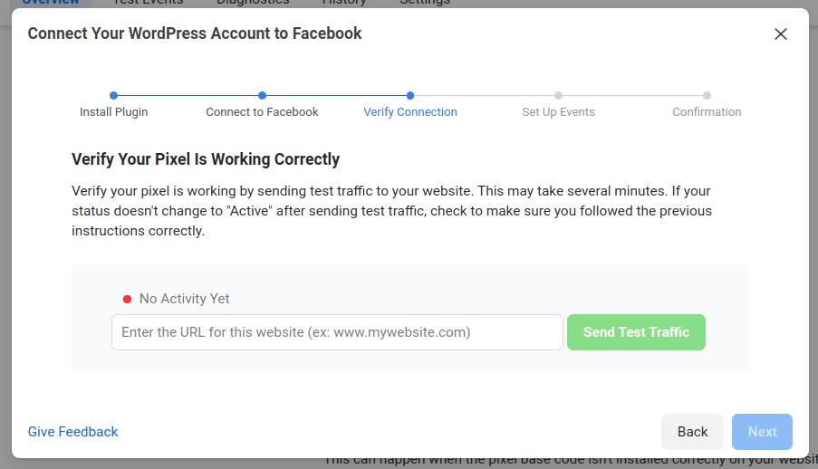 Fb-wordpress-account
