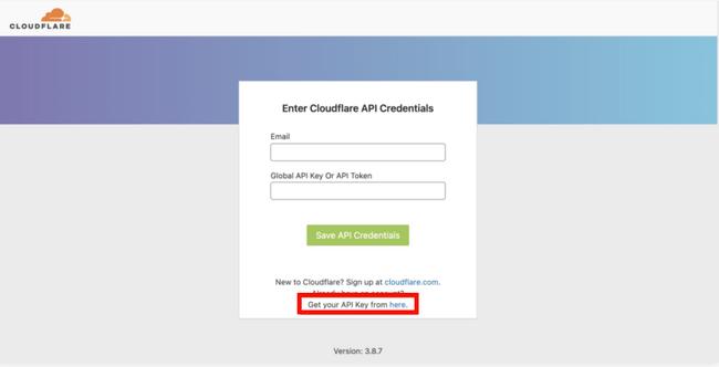 cloudflare-api-credentials