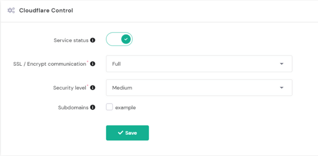 hpanel-cloudflare-control