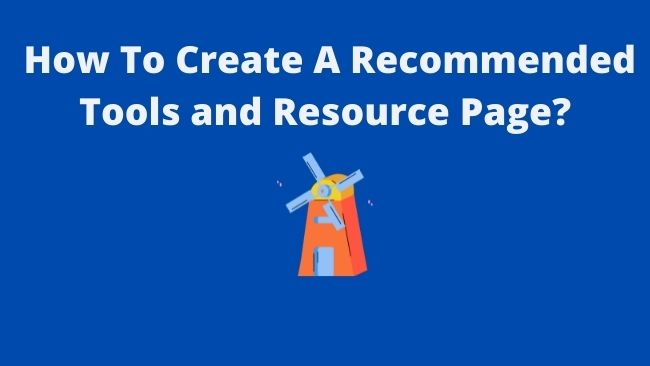 How-to-create-recommended-tools-resource-page